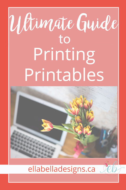 Ultimate Guide to Printing Printables | Wall Art & Orgnaizing Printables | Ellabella Designs