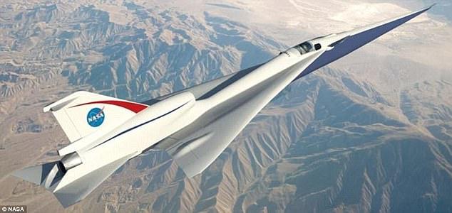 طائرة ناسا x-59
