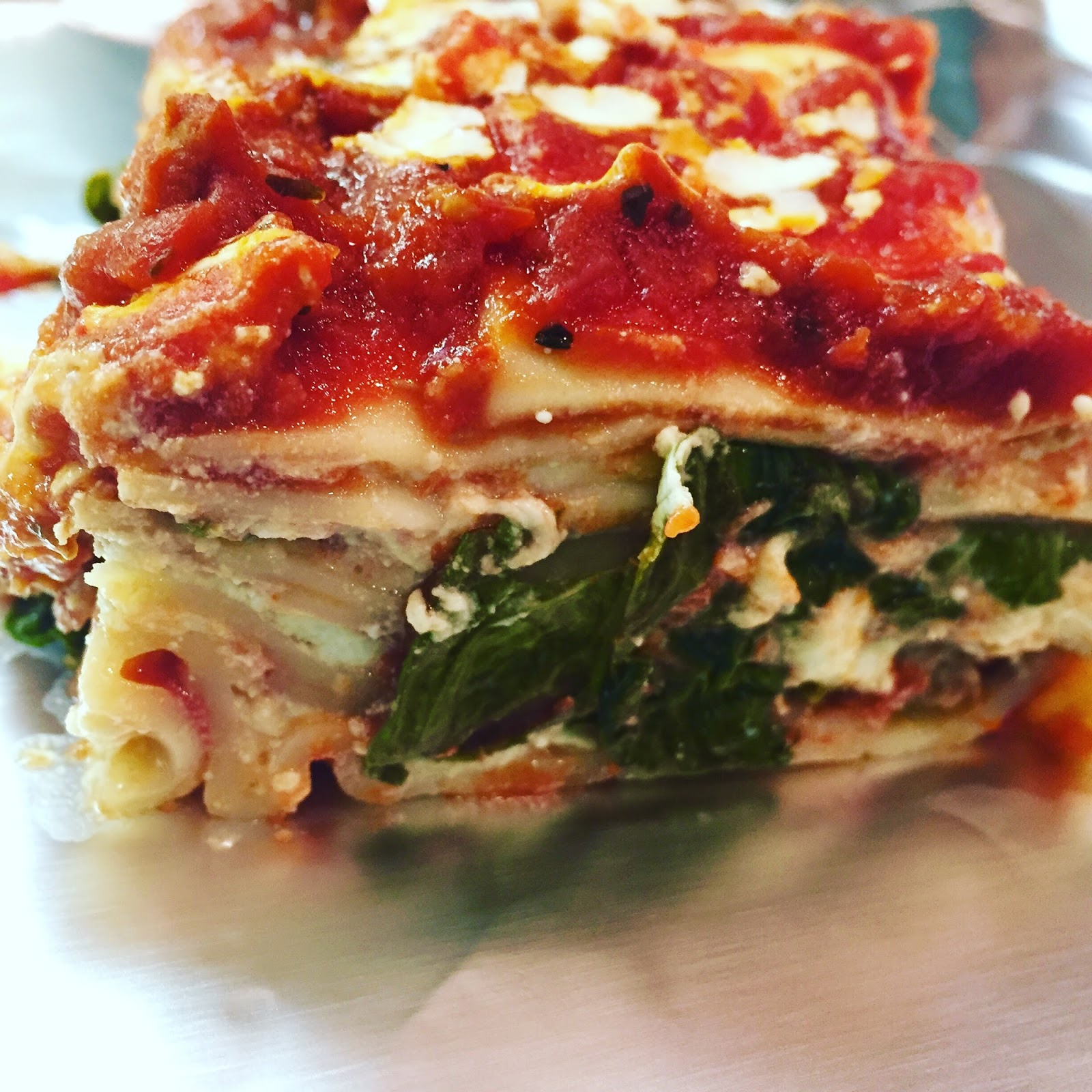 how to cook fresh spinach for lasagna