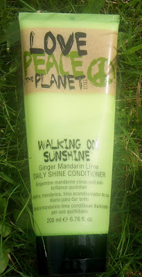 TIGI, Love Peace Planet, Walking On Sunshine odżywka
