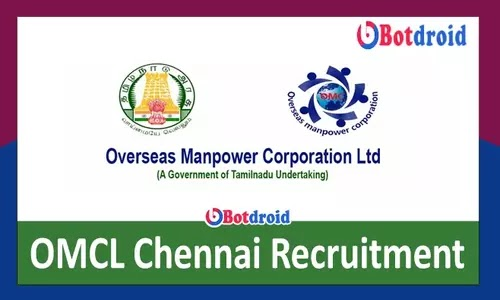 OMCL Chennai Recruitment 2021, Apply Online for Staff Nurse OMCL Jobs Vacancies