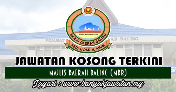 Jawatan Kosong 2018 di Majlis Daerah Baling (MDB)