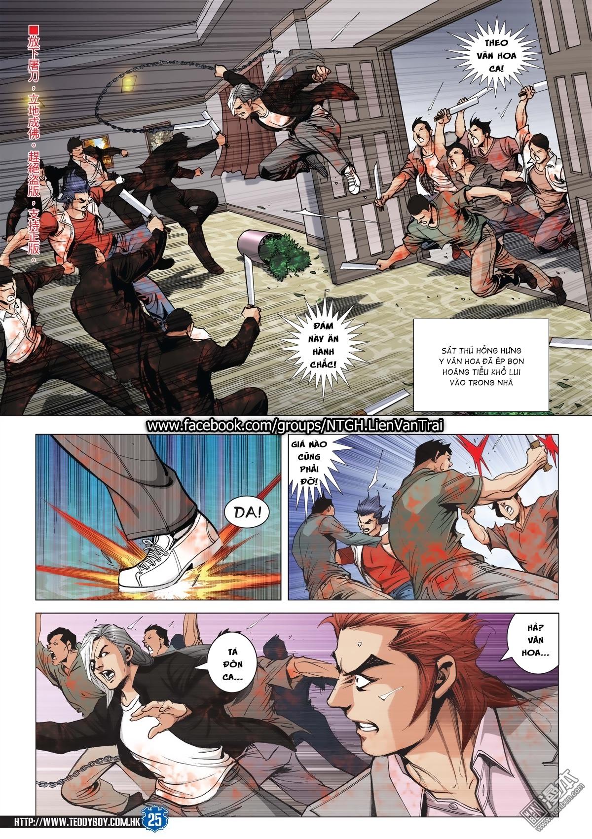 Người Trong Giang Hồ chapter 2026: khí diệm tông sư trang 24