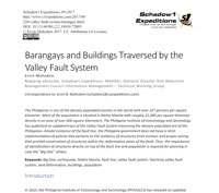 Valley Fault System Technical Report - Schadow1 Expeditions