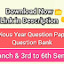 Download All Branch & All Semester Question Papers / Question Bank | SBTE BIHAR
