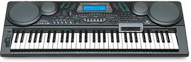 Cara Sampling Keyboard Casio CTK 731