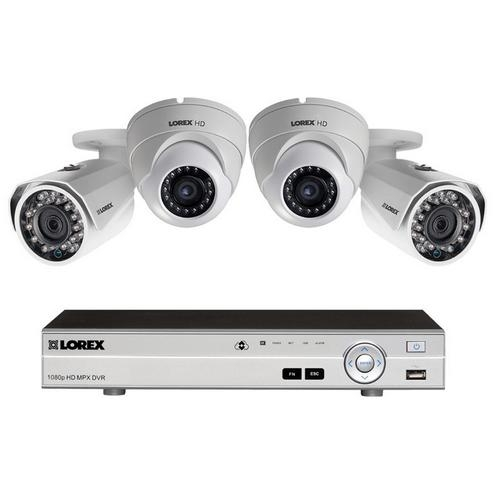 Lorex, MPX422DW HD Security Camera System with Metal Outdoor Cameras