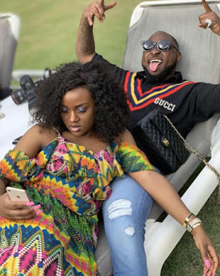 Davido and boo Chef Chioma loved up in new photos