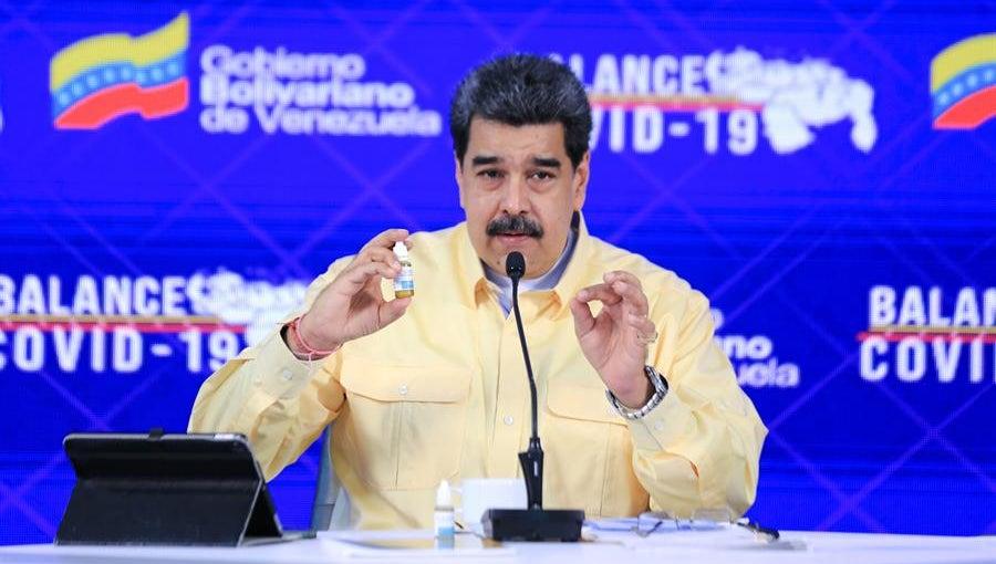 """Maduro asegura que Venezuela desarrolló unas """"goticas milagrosas"""" que curan el Covid-19"""