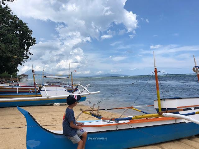 #KenSiPenjelajahKecik di Pantai Makalisung  | © jelajahsuwanto