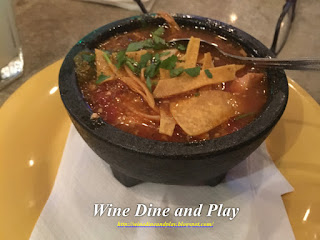 Chicken tortilla soup at Nuevo Cantina in St. Petersburg, Florida