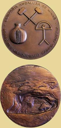 Medalla del 50 Aniversario de la Compañía Andaluza de Minas, 1979