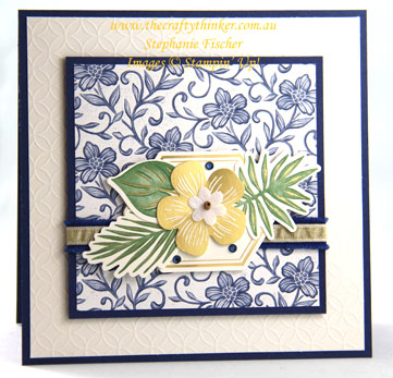 #thecraftythinker #stampinup #cardmaking #bohoindigomedley #inkitstampitbloghop , Boho Indigo Medley, Ink it! Stamp it! Blog Hop, 2020 Annual Catalogue, Stampin' Up! Demonstrator Stephanie Fischer, Sydney NSW