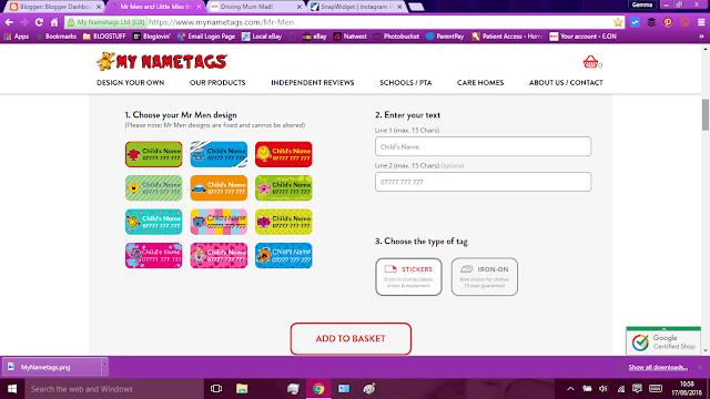 Screenshot of My Nametags