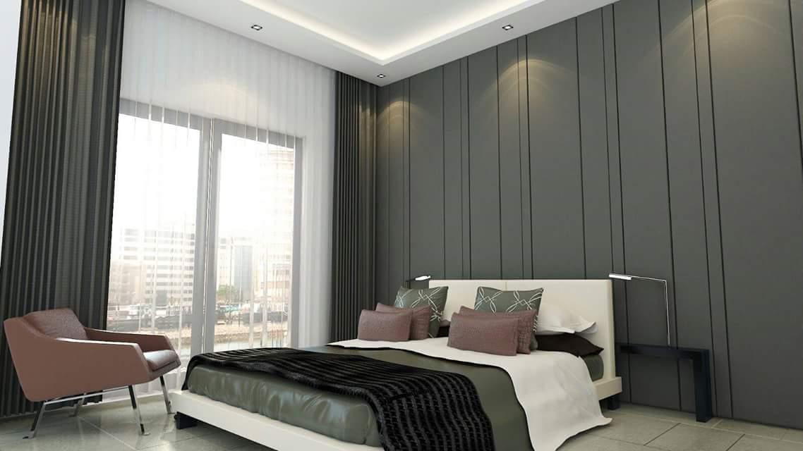 الوان غرف نوم حديثة وانيقة