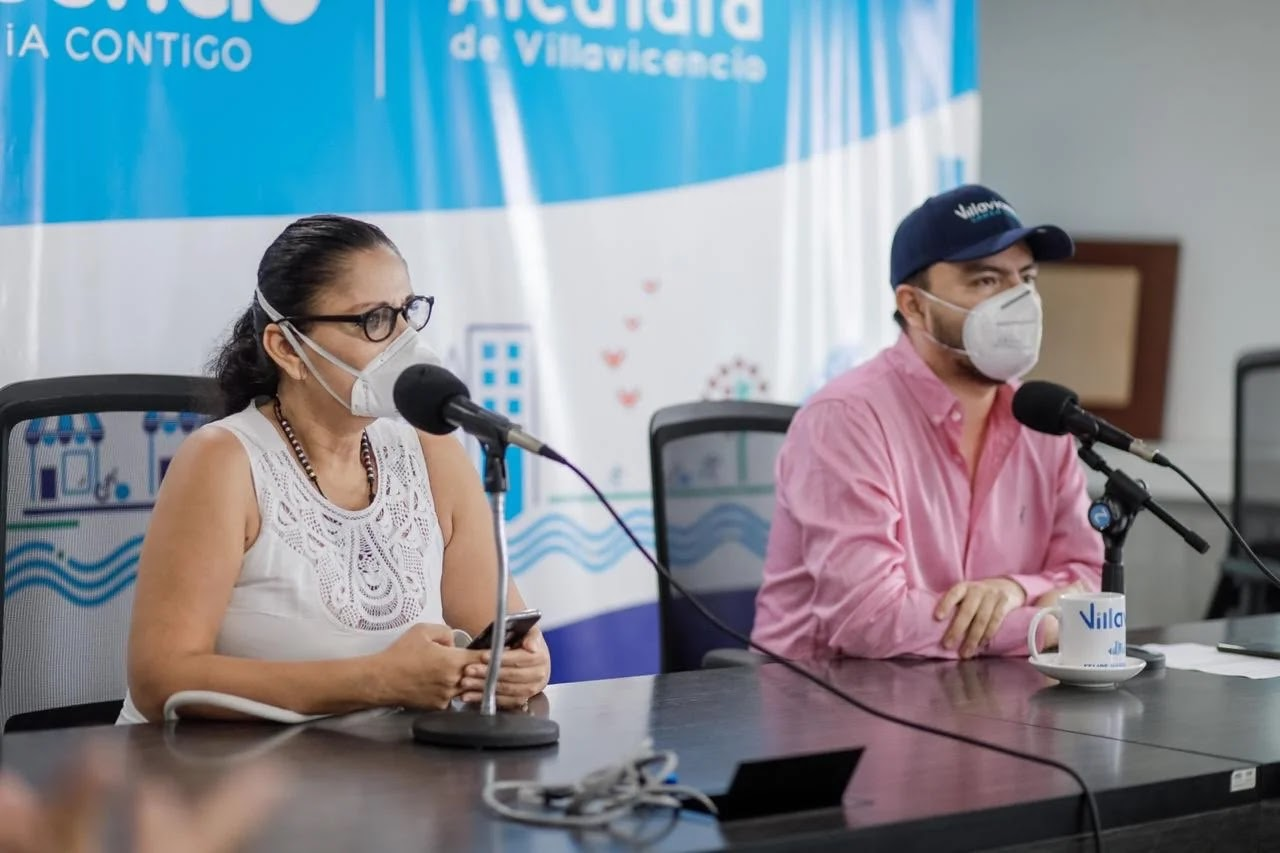 El alcalde Felipe Harman Ortiz indicó que la curva de contagios sigue creciendo de manera exponencial en Villavicencio