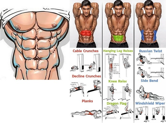 10 Minute Home Bodyweight Abs Crusher Workout - bodybuilding110