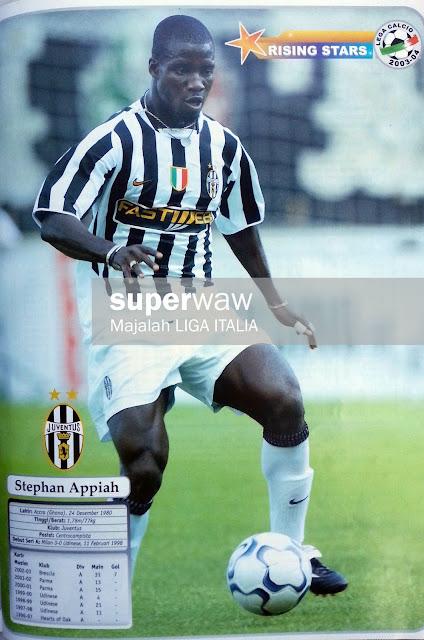 Stephan Appiah Juventus