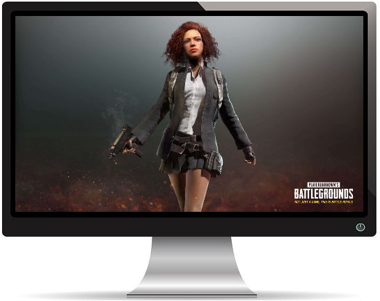 PUBG Rouquine Écolière - Fond d'écran en Ultra HD 4K 2160p