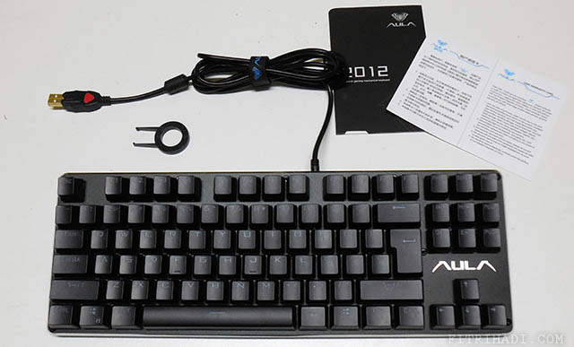(Ulasan) AULA F2012 Mechanical Gaming Keyboard