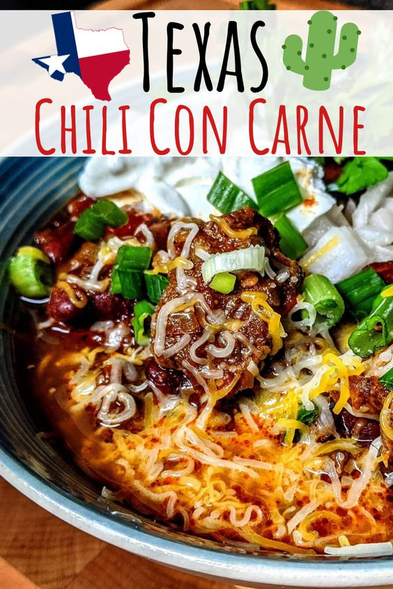 How To Make Texas Chili Con Carne