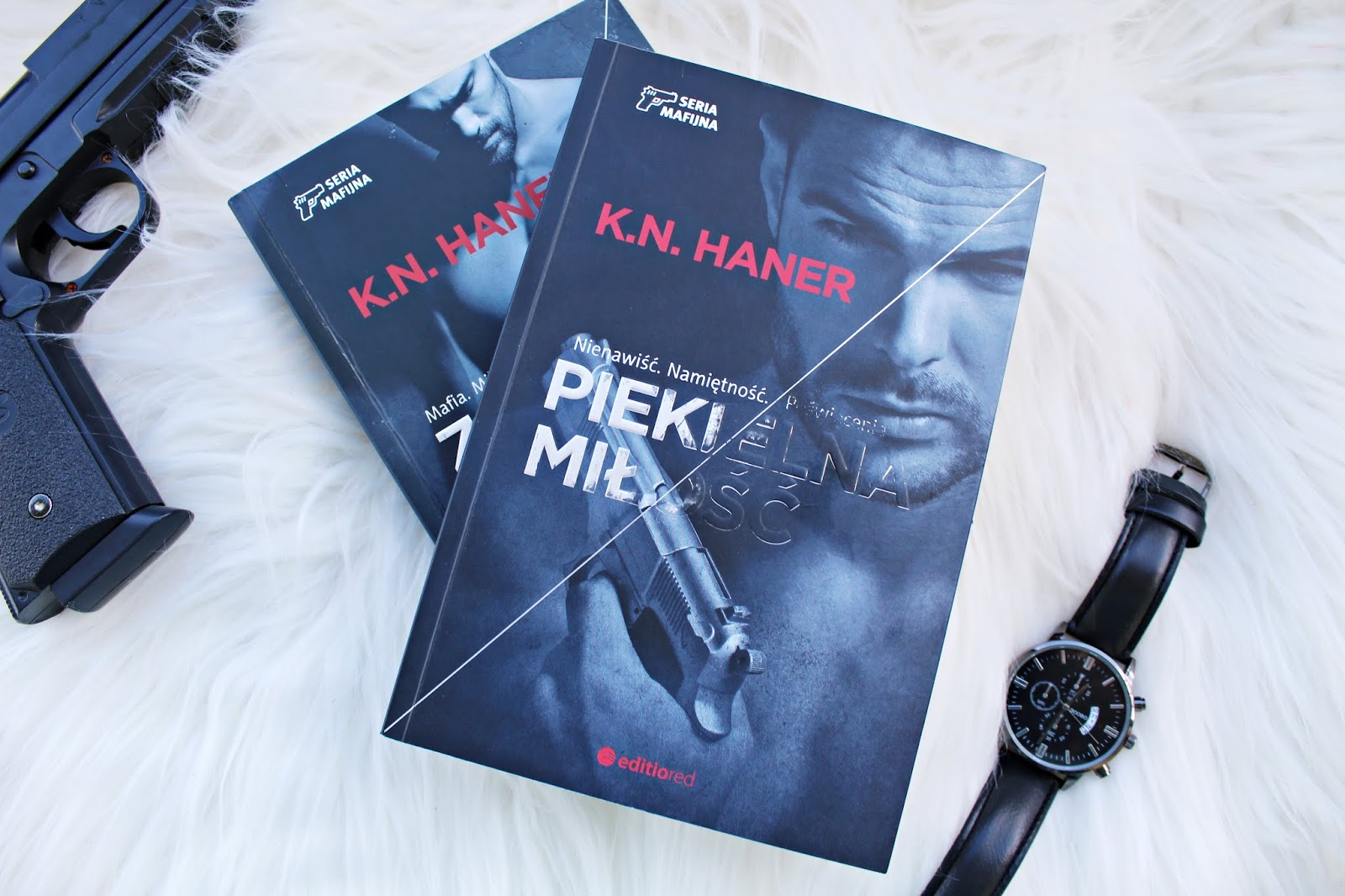 """K.N.Haner """"Zakazany układ"""" i """"Piekielna miłość"""" - Seria Mafijna"""