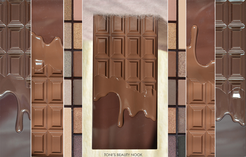 makeup revolution chocolate eyeshadow palette