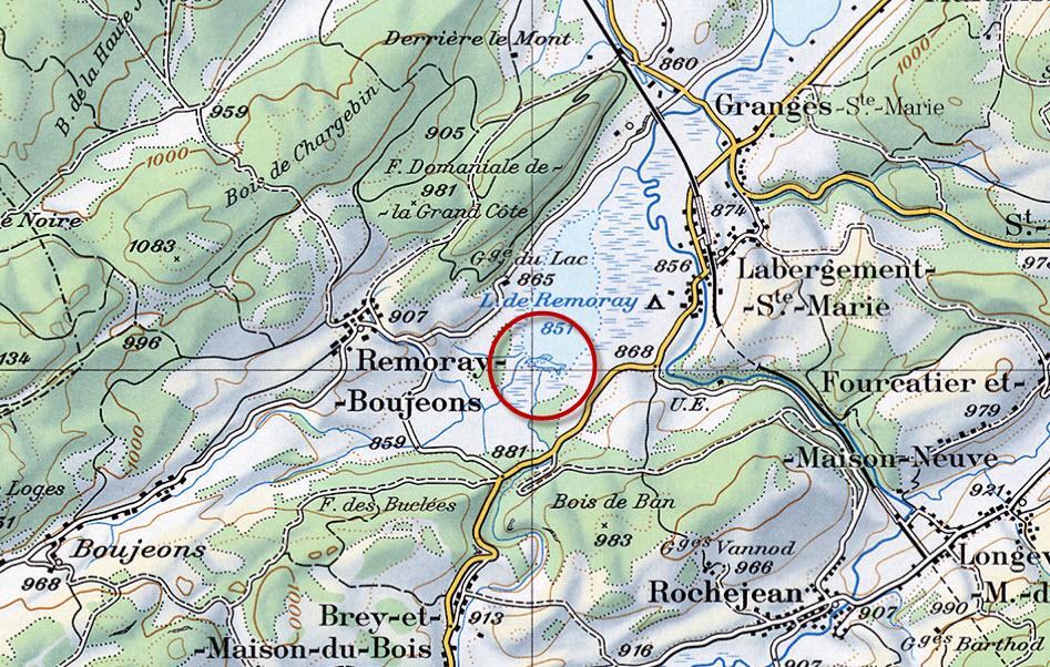 Doodles Hidden Inside Swiss Maps