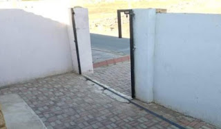 Family in shock as their house gate gets stolen