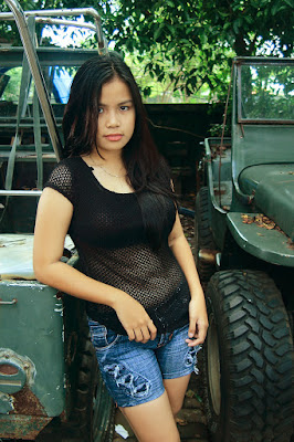 Model makassar tema Jeep hot pant manis