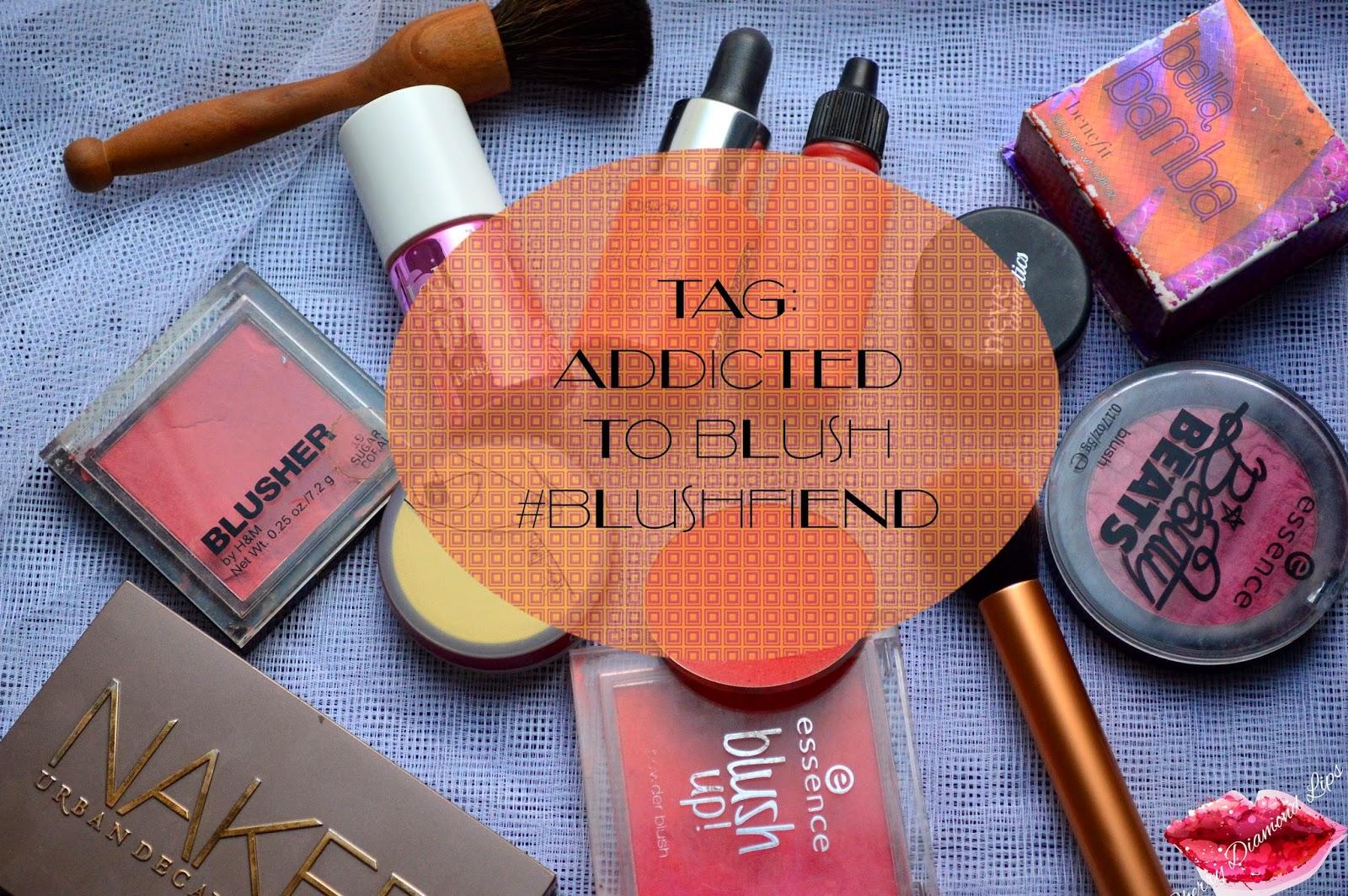 Addicted to blush, tag, #blushfiend, Cherry Diamond Lips
