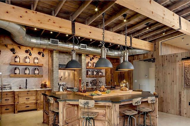 ห้องครัวสำหรับครอบครัวใหญ่