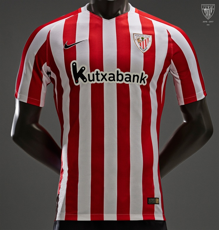 e68f2dc05865e Camiseta titular Nike del Athletic de Bilbao 2016 2017 - Nuevo Fútbol