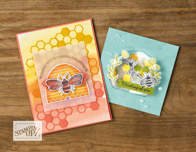 stampin' up! | honey bee | handmade cards | Nicole Steele The Joyful Stamper