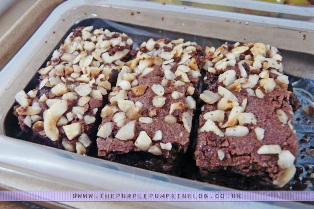 graze box review - nature delivered! - the graze brownie