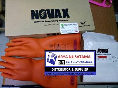 Supplier Sarung Tangan Listrik Merk Novax 20KV di Tanggerang