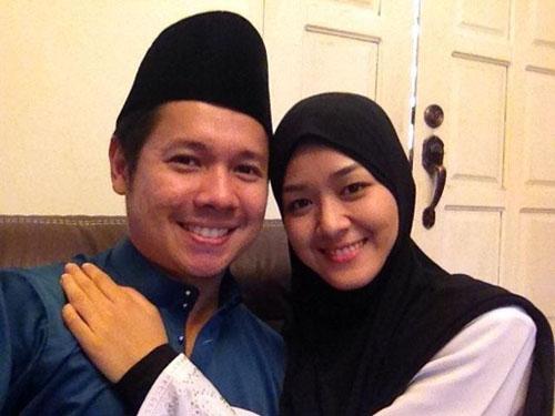 Foto Ally Iskandar-Farah Lee | Aidilfitri 2012 | Sweet Betul Mereka