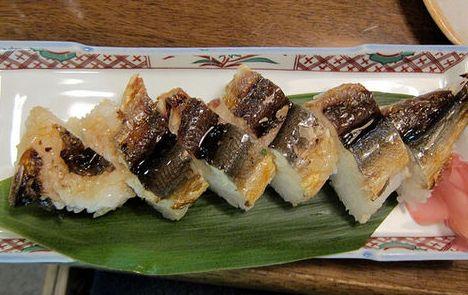 101 เมนูซูชิ ซูชิหน้าปลาอายุ (Ayu)