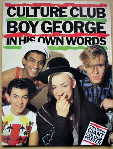 Boy George Culture Club book from 1983