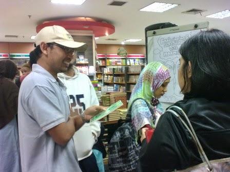 acara jumpa penulis