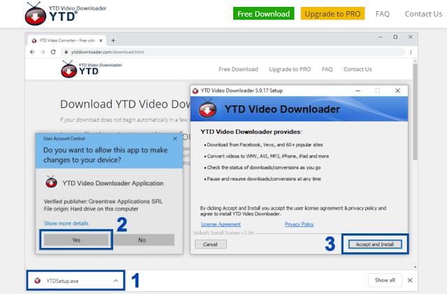 YTD Downloader সফটওয়্যার থেকে ইউটিউব ভিডিও ডাউনলোড