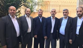 العاروري وأبو مرزوق يصلان غزة ظهر اليوم لبحث المصالحة  التفاصيل من هناا