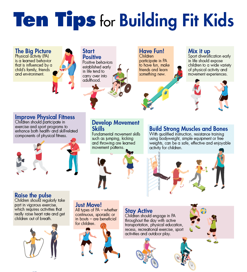 Fun and Wonderful Ways to Educate Kids About Exercise