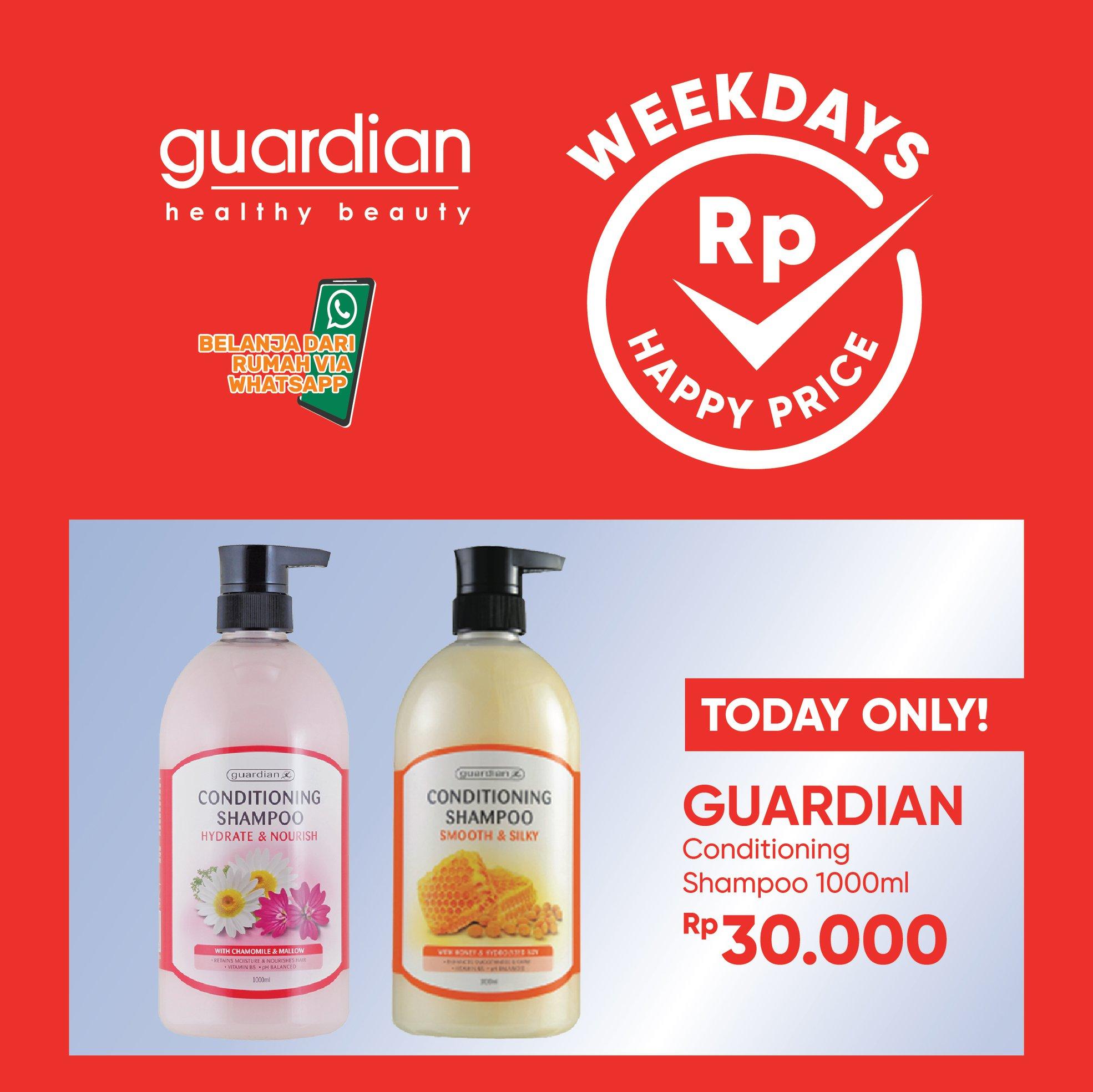 Promo GUARDIAN Weekday Happy Special Price 26 November 2020