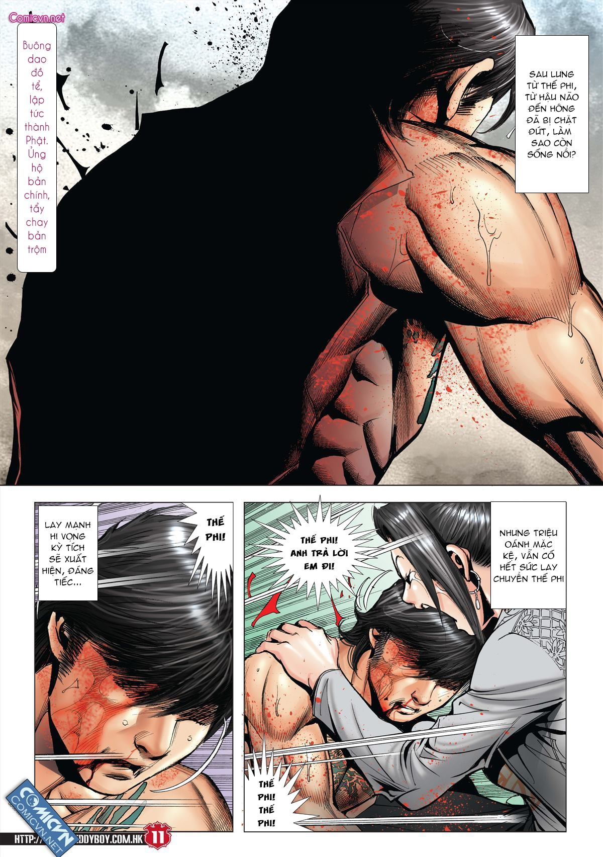 Người Trong Giang Hồ chapter 2001: tự tận trang 10