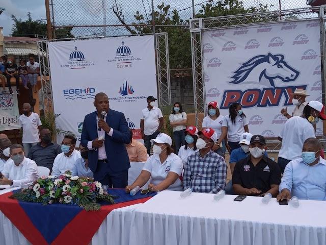Inauguran por todo lo alto el Torneo de Béisbol Pequeñas Ligas e Infantil San Cristóbal 2021