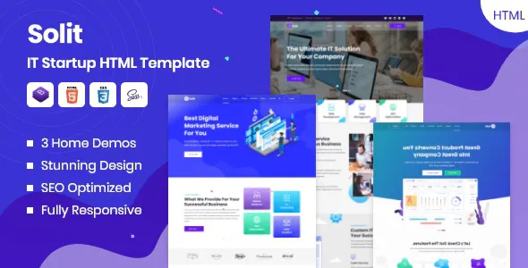 Best IT Startup HTML Template