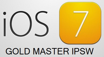 Apple iOS 7 GM IPSW Firmwares