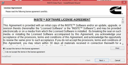 cummins insite basic license cost