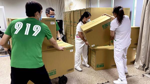 德昌營造連3年捐照護物資 助創世植物人渡難關
